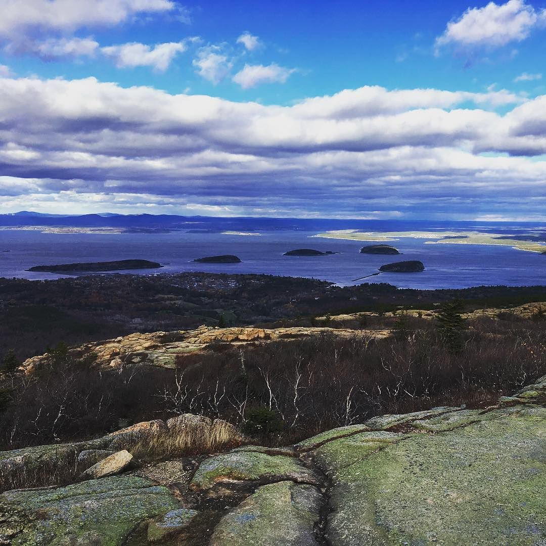 Porcupine islands off of Bar Harbor, Acadia National Park #acadia #maine